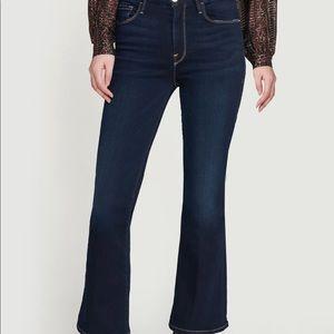 Frame Le Crop Mini Boot Jeans.